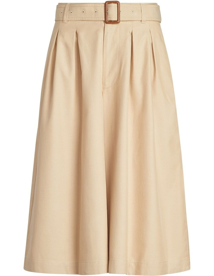 Twill Gaucho Paperbag Pant image 4