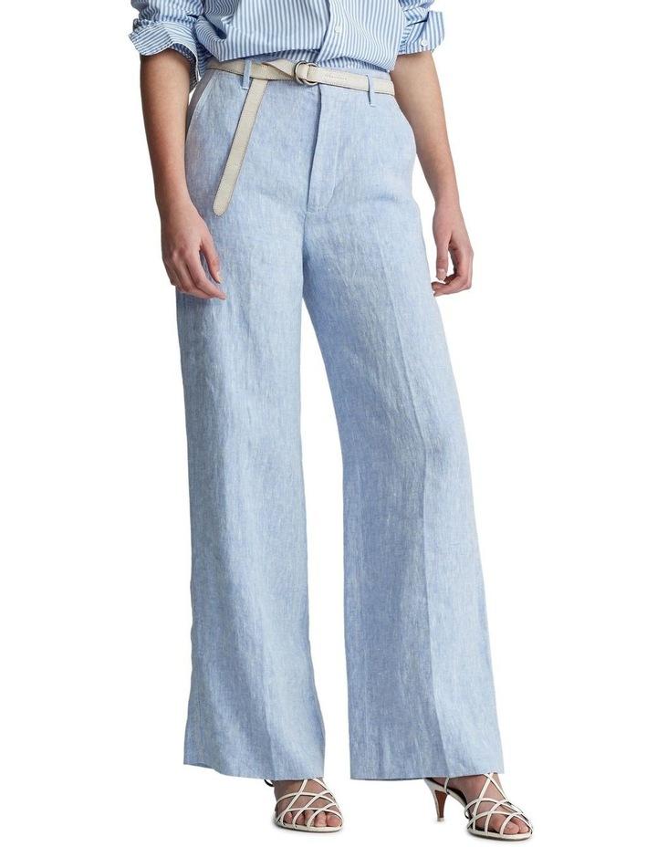 Linen Wide-Leg Pant image 1