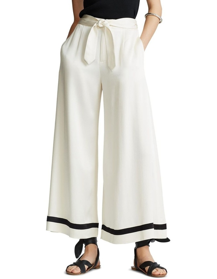 Satin Wide-Leg Pant image 1
