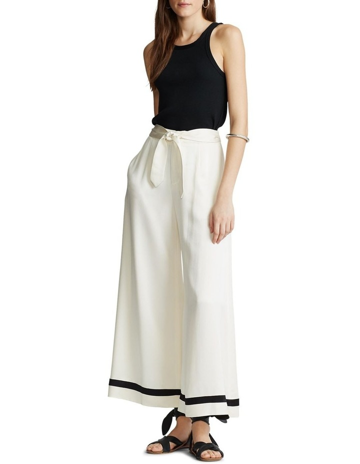 Satin Wide-Leg Pant image 3