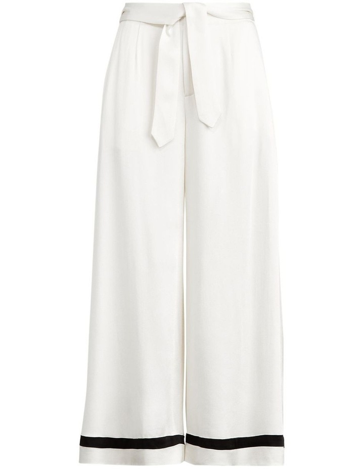 Satin Wide-Leg Pant image 4