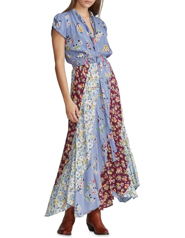 Patchwork Silk Maxidress image 1