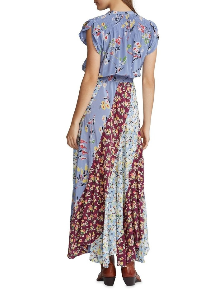 Patchwork Silk Maxidress image 2
