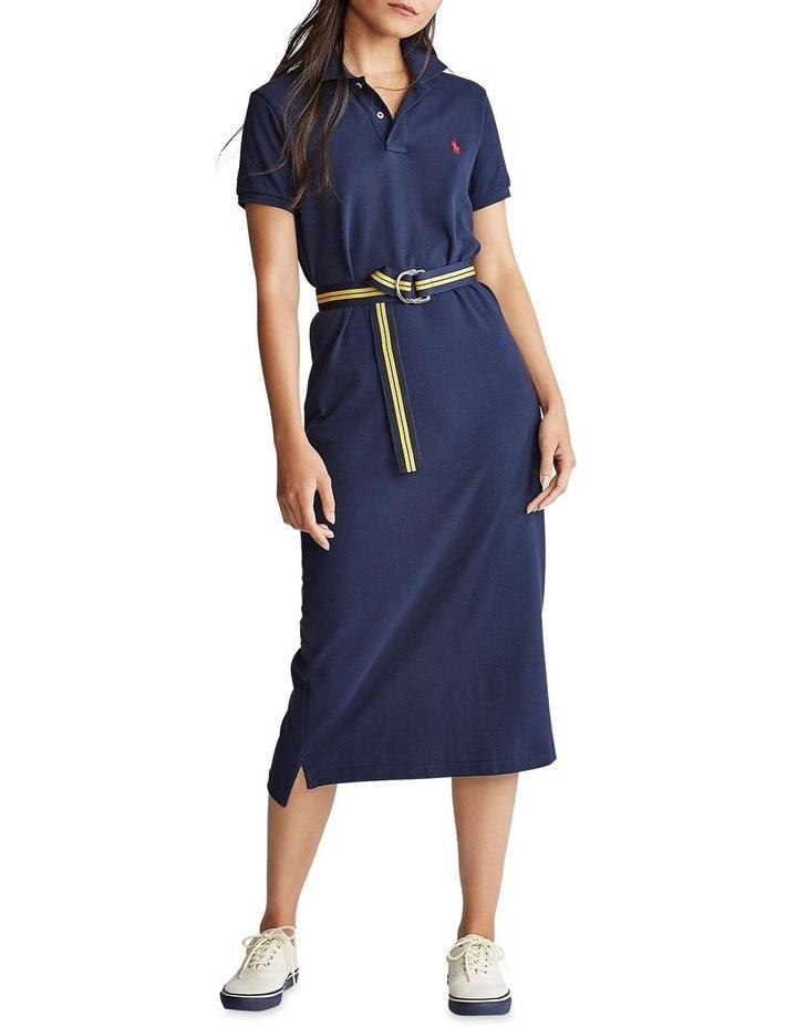 Short-Sleeve Polo Shirtdress image 1