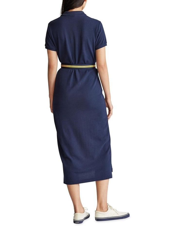 Short-Sleeve Polo Shirtdress image 2