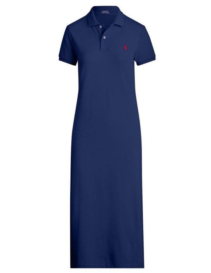 Short-Sleeve Polo Shirtdress image 3