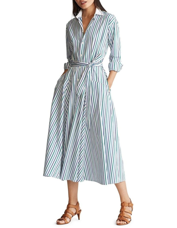 Fit-And-Flare Shirtdress image 2