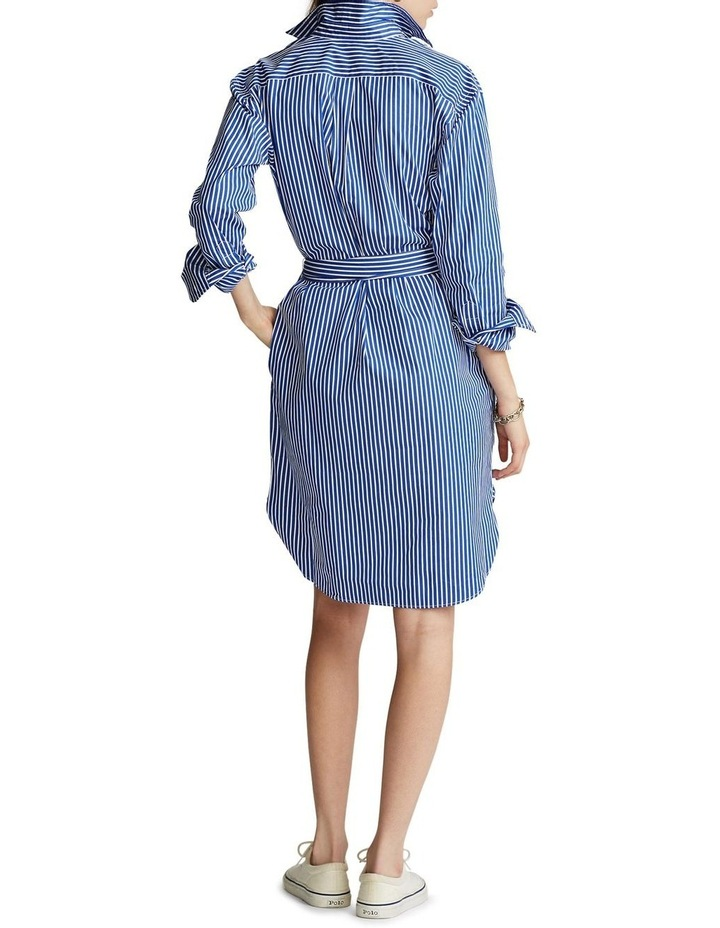 Striped Cotton Shirtdress image 2