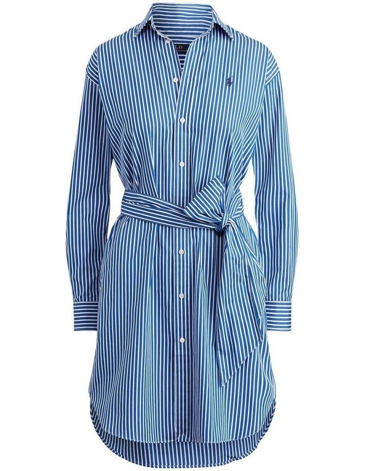 Striped Cotton Shirtdress image 4