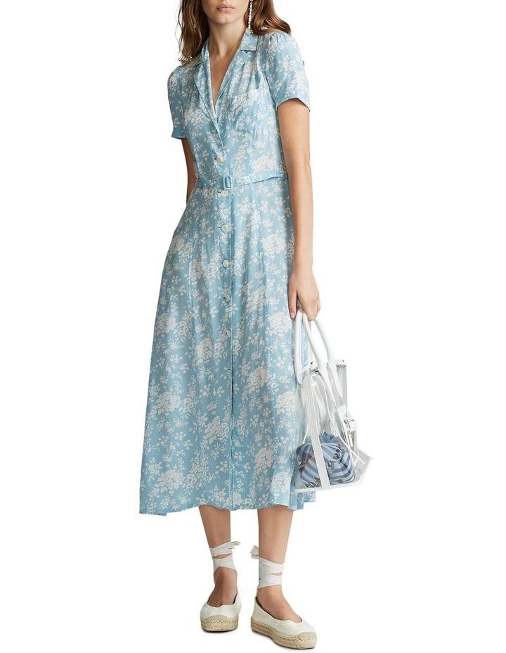 Floral Crepe Midi Dress image 2