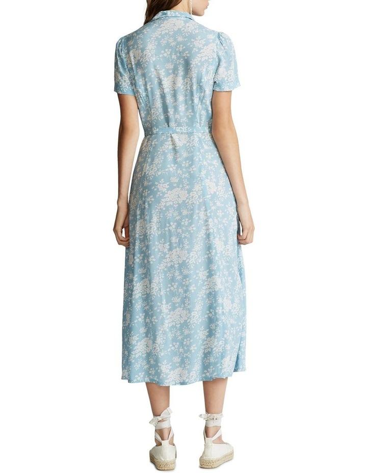 Floral Crepe Midi Dress image 3