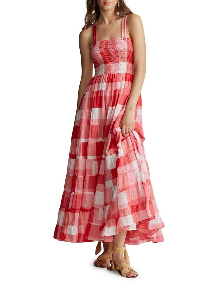 Plaid Cotton Maxidress image 2