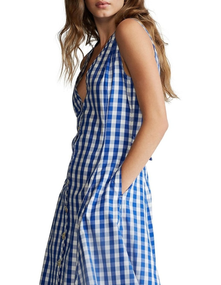 Gingham Cotton Dress image 1