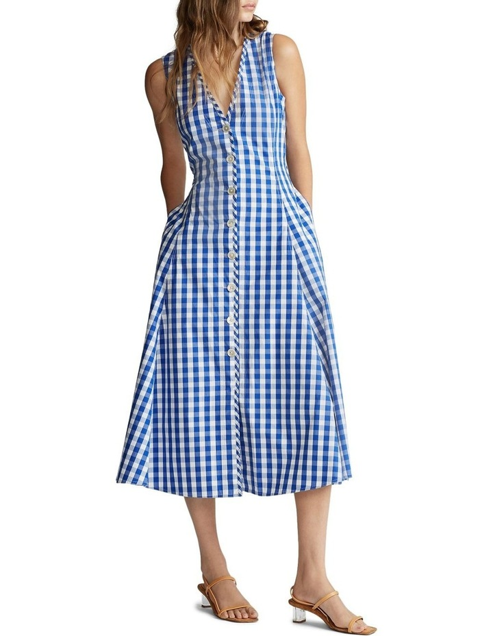 Gingham Cotton Dress image 2