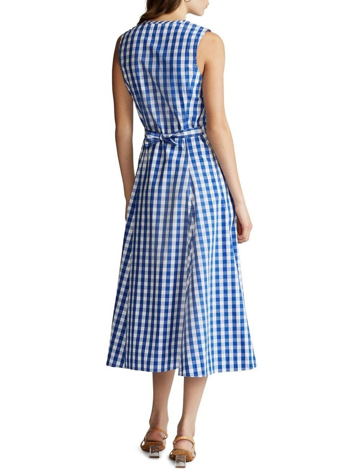 Gingham Cotton Dress image 3