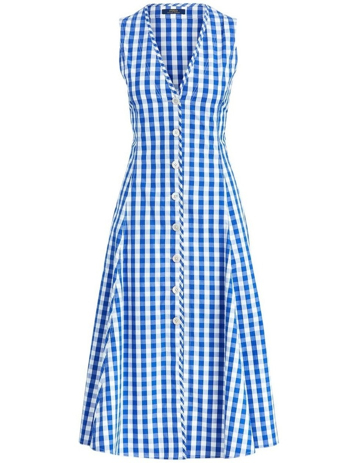 Gingham Cotton Dress image 4