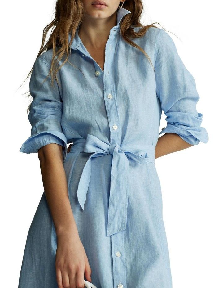 Linen Shirtdress image 1