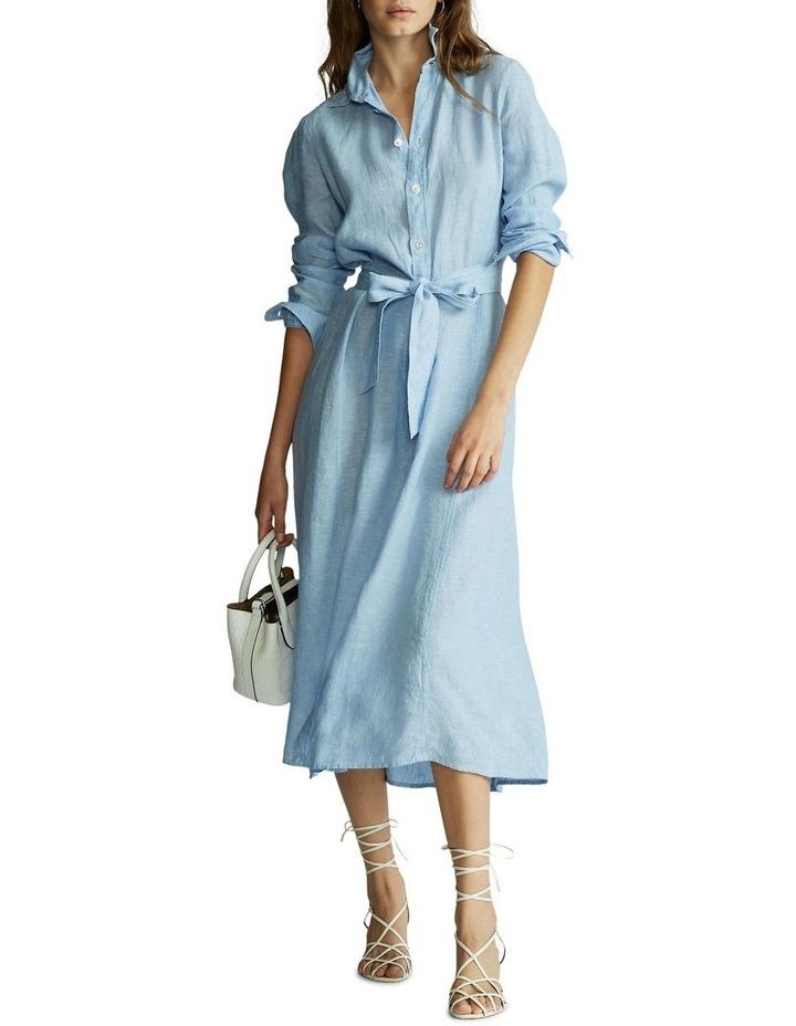 Linen Shirtdress image 2