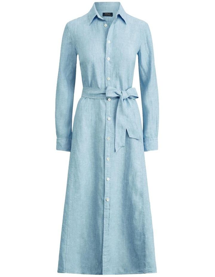 Linen Shirtdress image 4