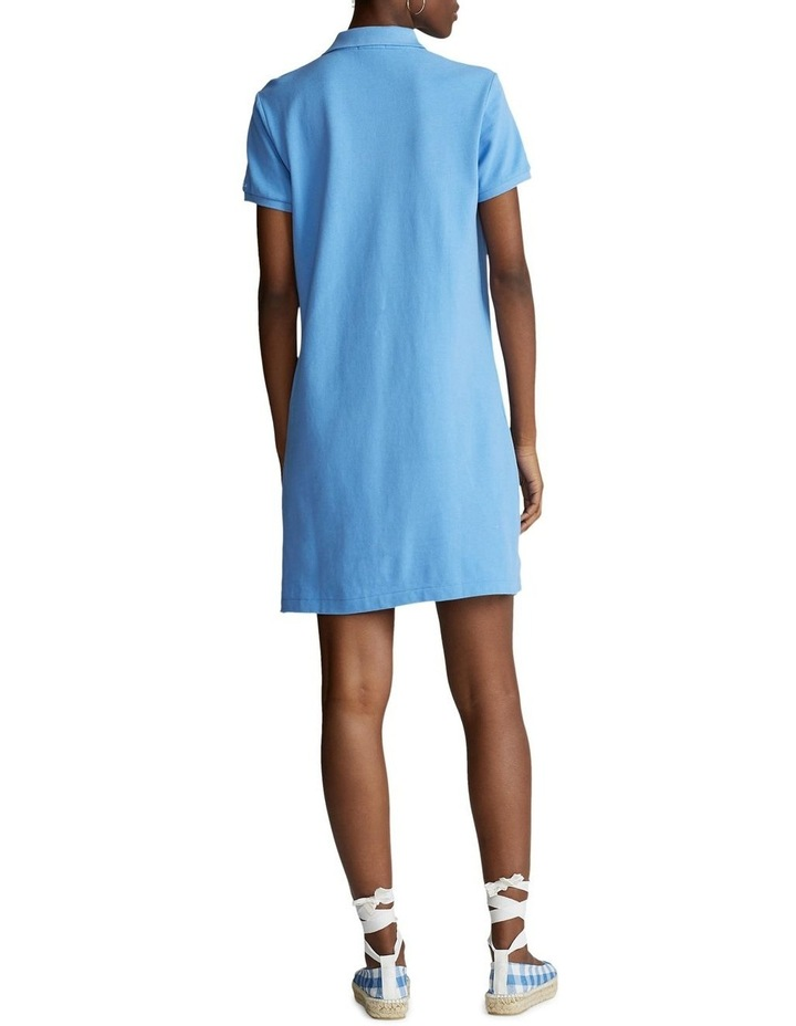 Cotton Mesh Polo Dress image 3