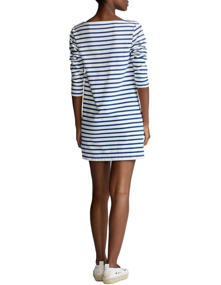 Striped Boatneck Dress image 2
