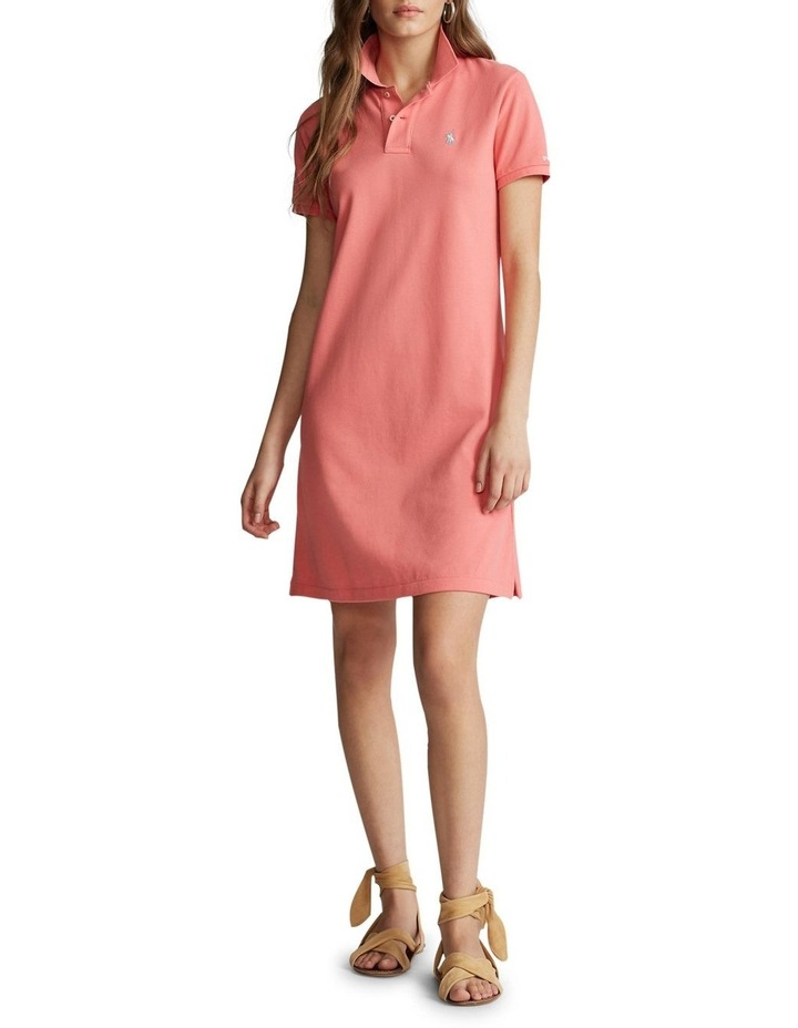 Cotton Mesh Polo Dress image 2