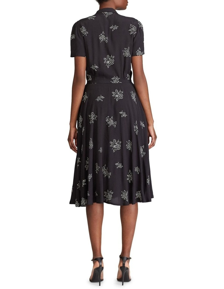 Belted Rose-Print Dress image 3