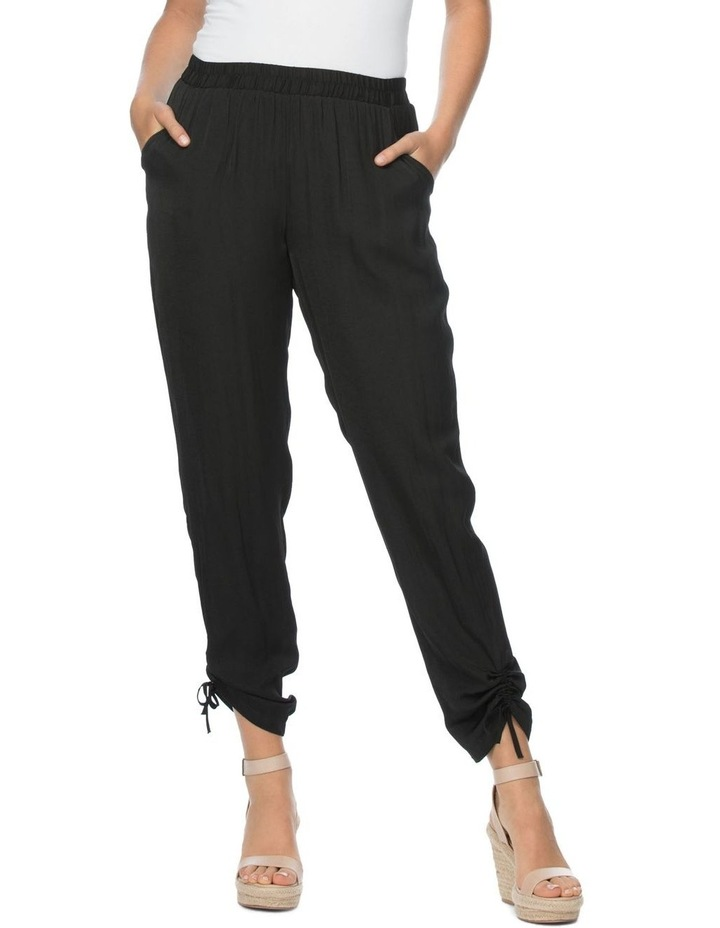 Luxe Gather Hem Detail Pull On Pant image 1