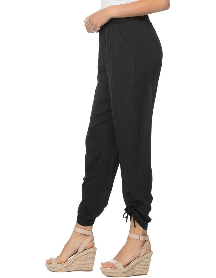 Luxe Gather Hem Detail Pull On Pant image 2
