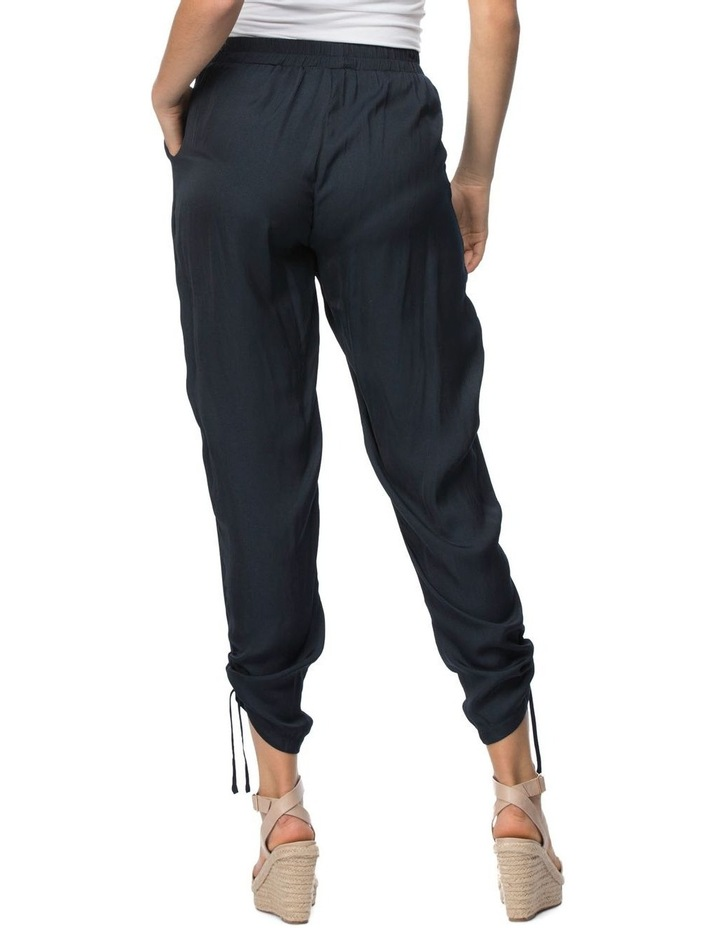 Luxe Gather Hem Detail Pull On Pant image 3