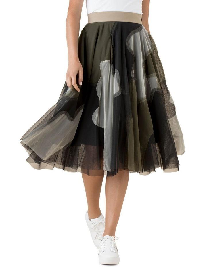 Tulle Skirt Urban Camo image 1