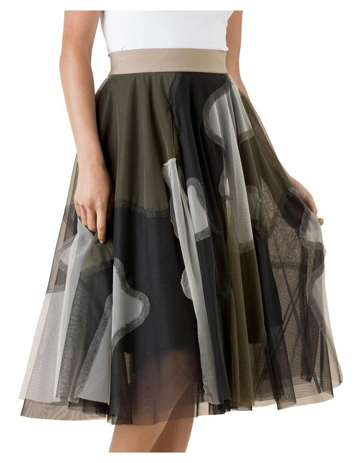 Tulle Skirt Urban Camo image 2