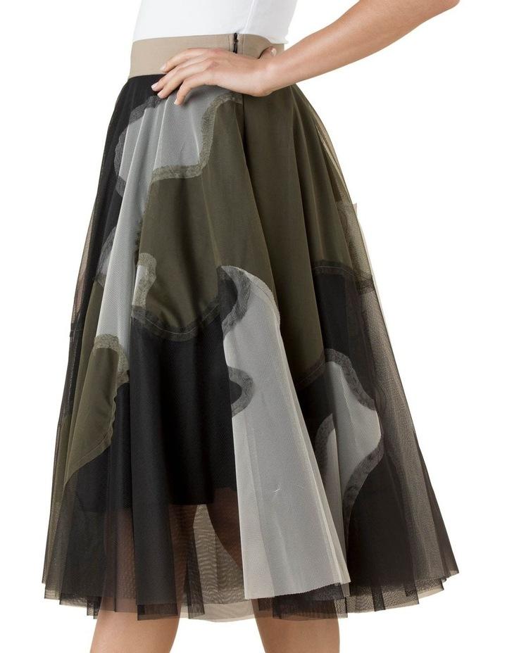 Tulle Skirt Urban Camo image 3