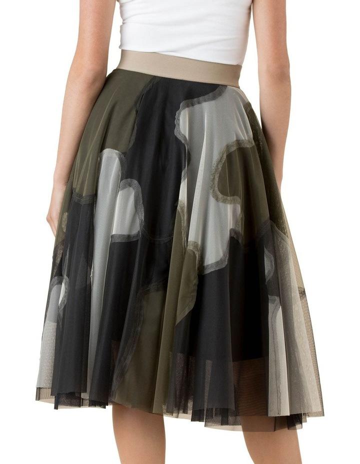 Tulle Skirt Urban Camo image 4