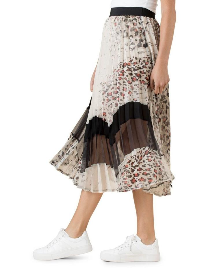 Cheetah Pleatah Skirt image 2