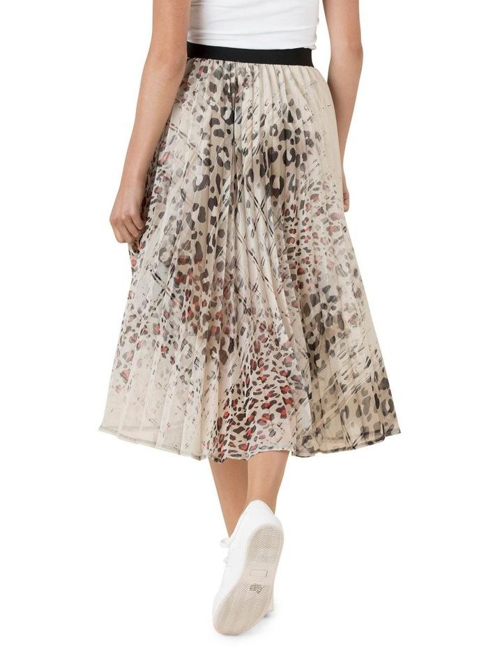 Cheetah Pleatah Skirt image 3