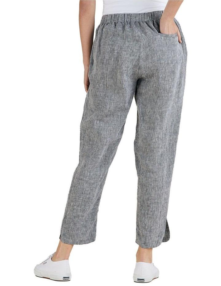 Yarn Dyed Linen Slim Pant image 3