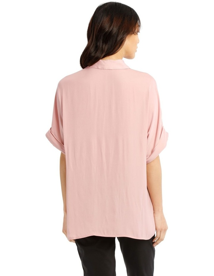 Luxe Button Front Relaxed Shirt image 3