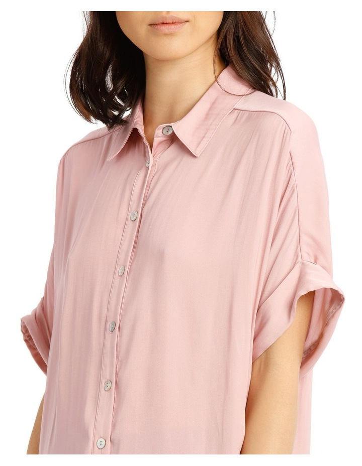 Luxe Button Front Relaxed Shirt image 4