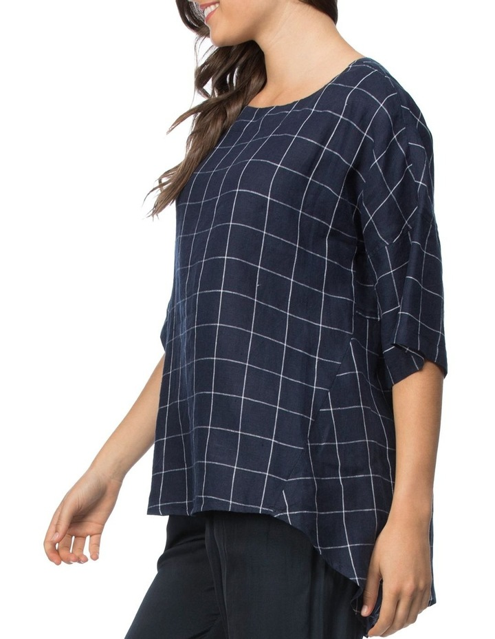 Check Top With Button Back Detail image 2