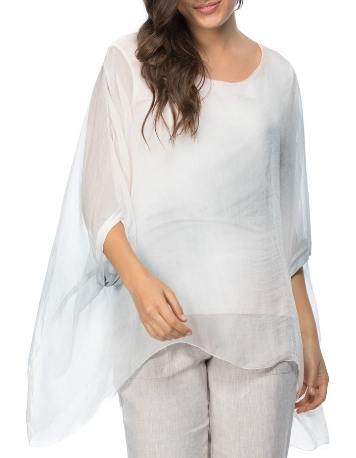 Ombre Printed Overlay Top image 1