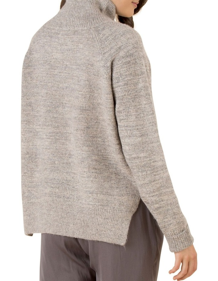 Shimmer Funnel Neck Knit Jumper image 3