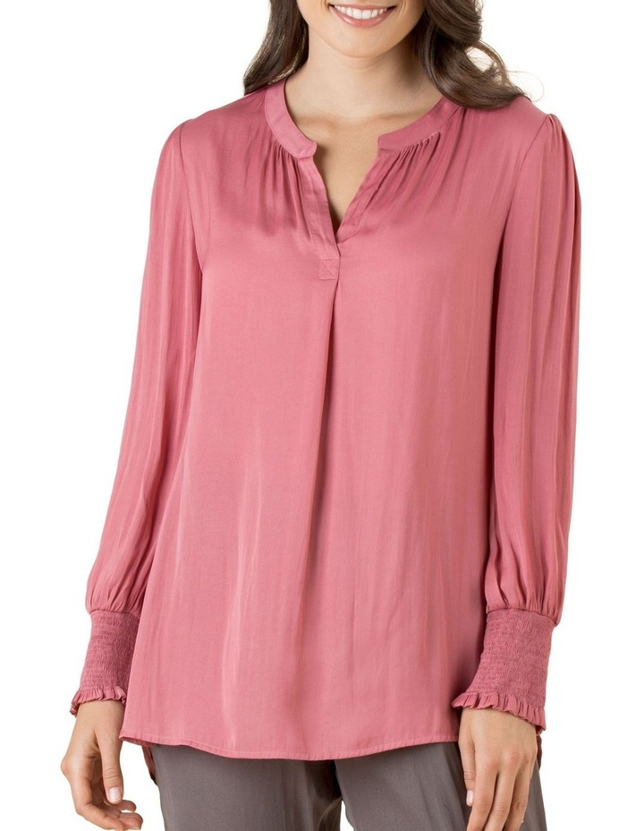 Layla Luxe Shirred Cuff Top image 1