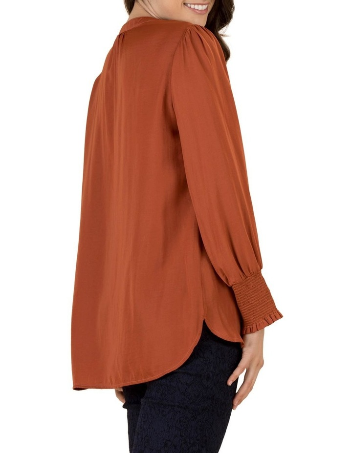Layla Luxe Shirred Cuff Top image 3