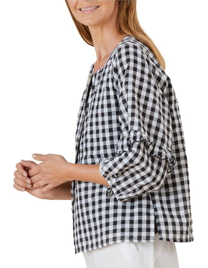 Gingham Shirt Jacket image 2