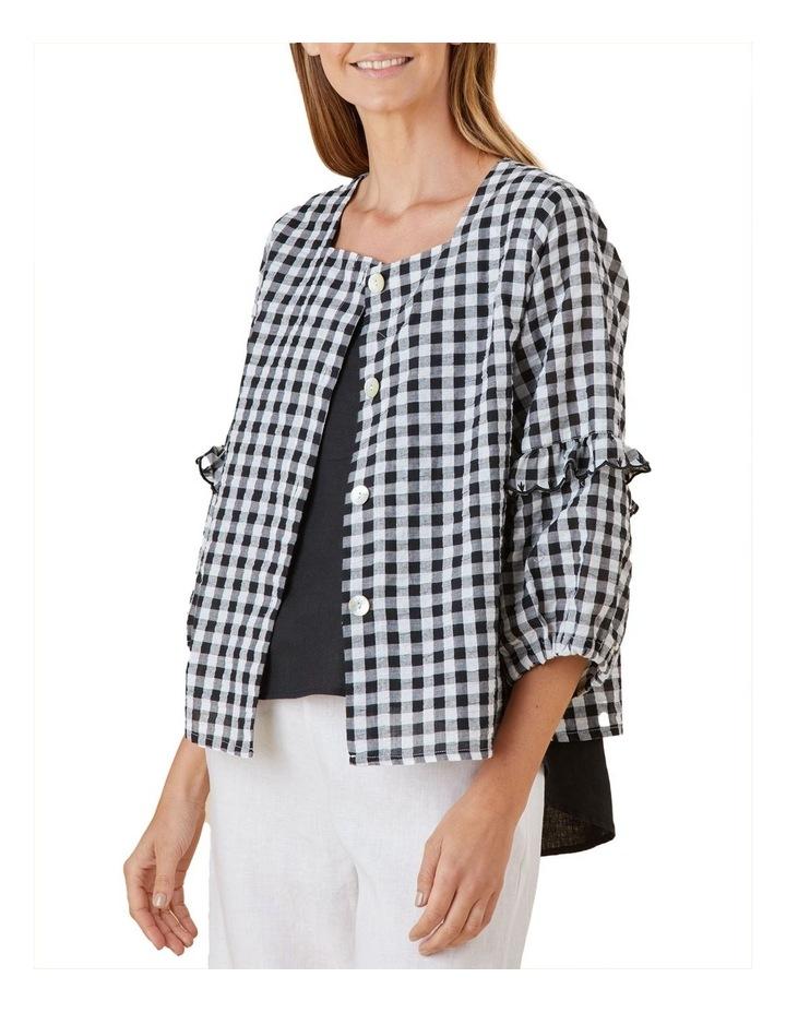 Gingham Shirt Jacket image 3