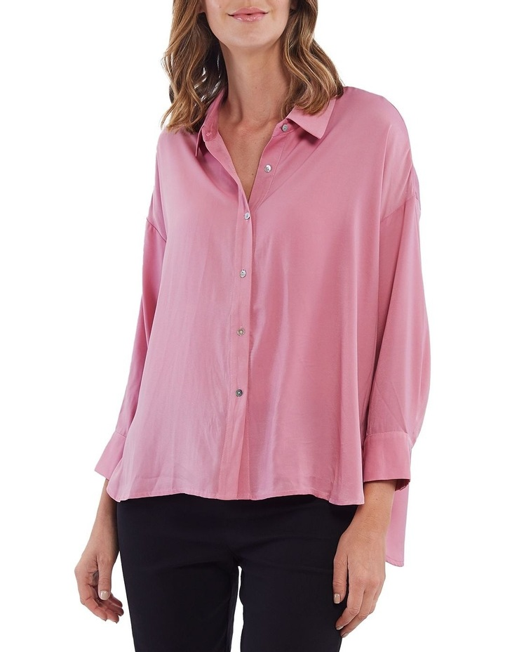 Luxe Button Front Shirt image 1