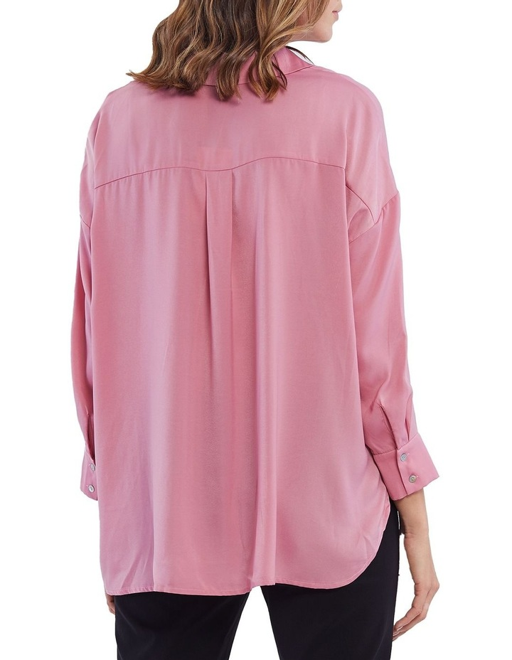 Luxe Button Front Shirt image 3