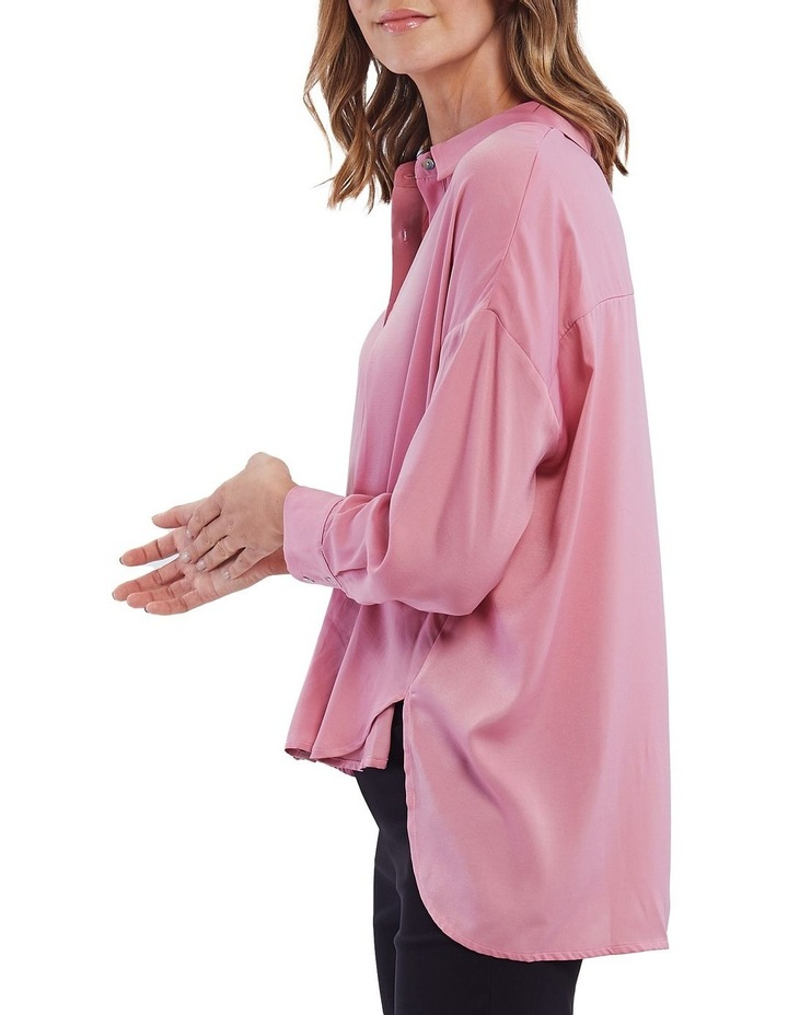 Luxe Button Front Shirt image 4