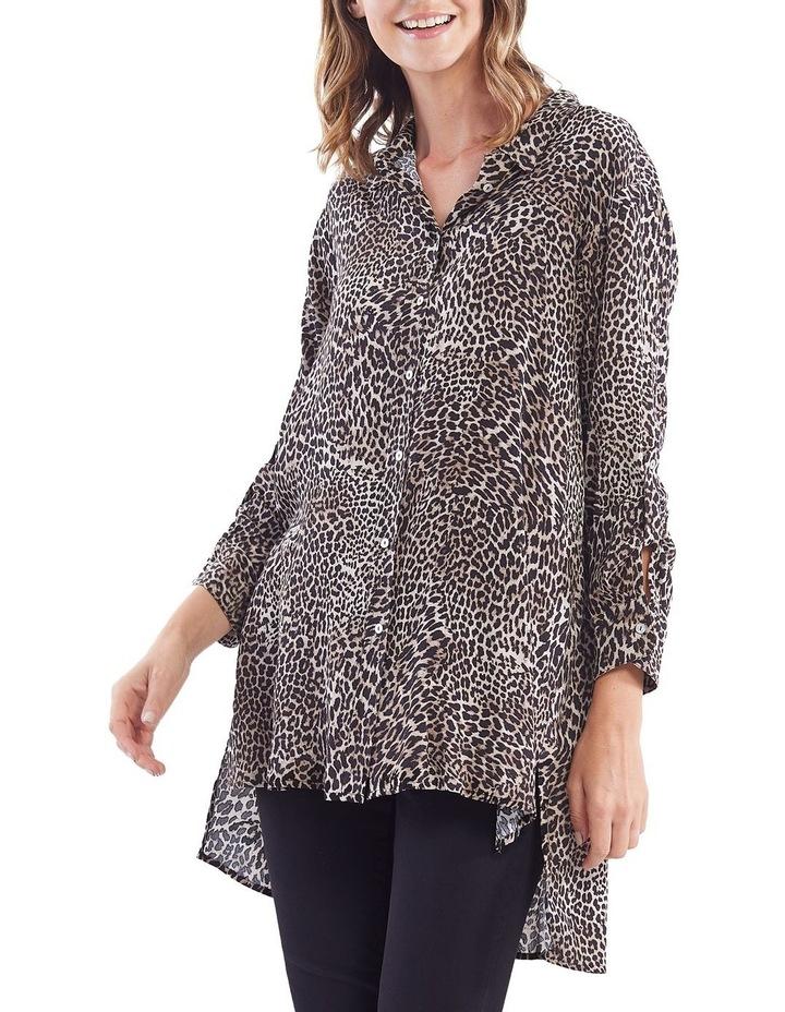 Leopard Print Overshirt image 1
